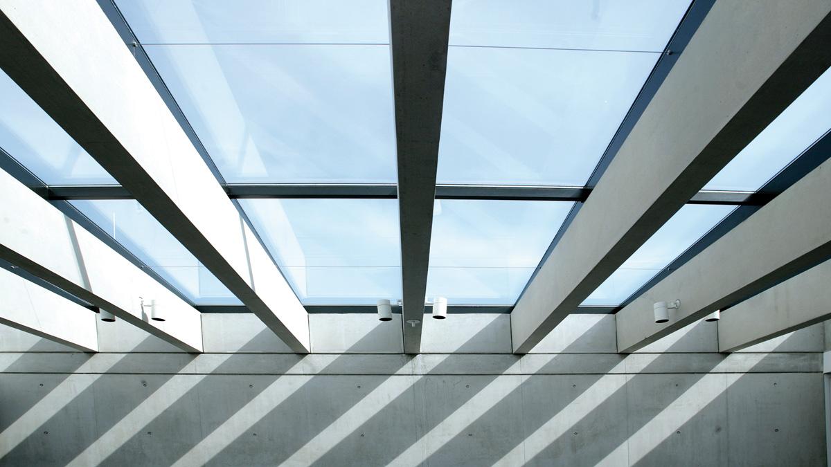 Lamilux ci system glasarchitektur pr60 lamilux heinrich strunz group - Cubierta de cristal ...