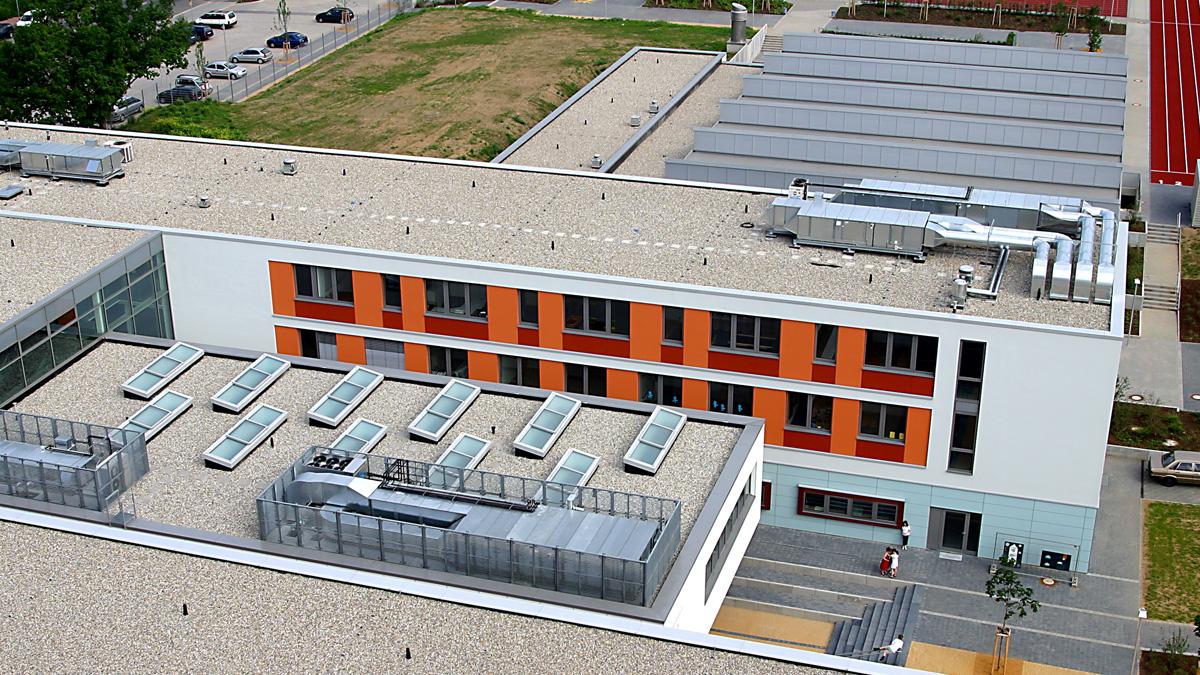 Lamilux ci system glasarchitektur pr60 lamilux heinrich for Mode und bekleidung schule frankfurt